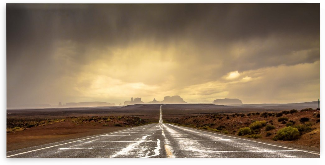 Strom in Monument Valley by 1x