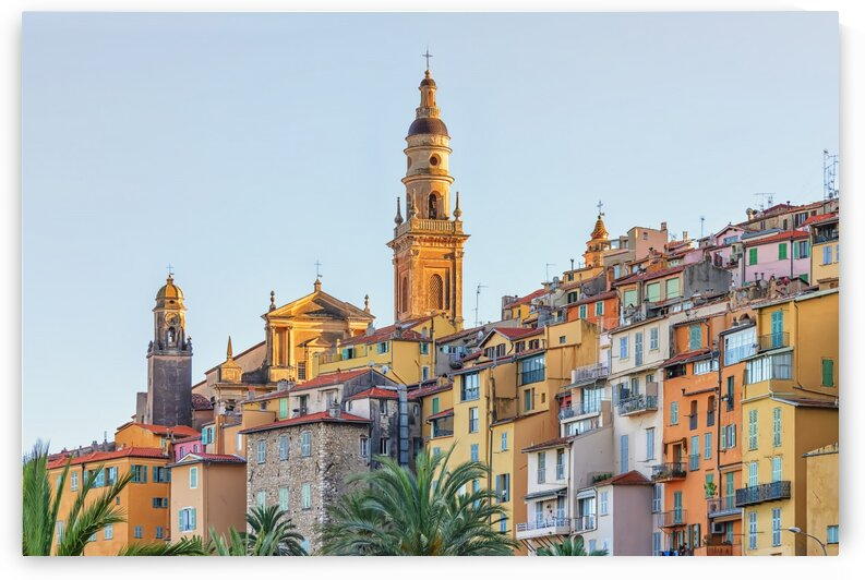 Menton roofs by Manjik Pictures