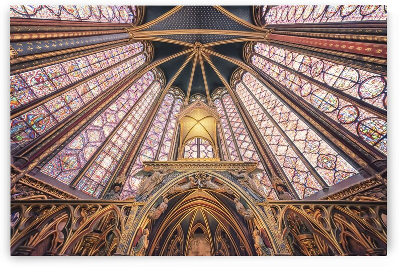 Sainte-Chapelle by Manjik Pictures