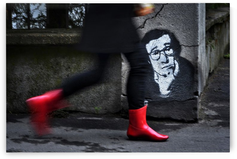 RED BOOTS by Dragan M. Babovic by 1x