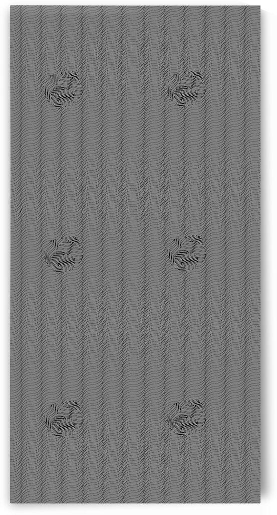 Wave Balls - Grey by Irmus Design