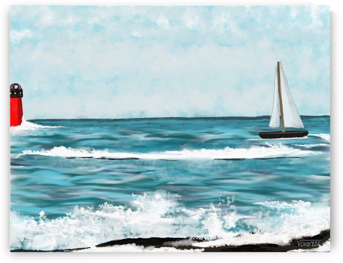 Ocean by Vicky Charest