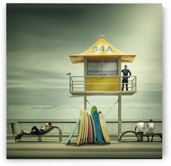 The life guard by 1x