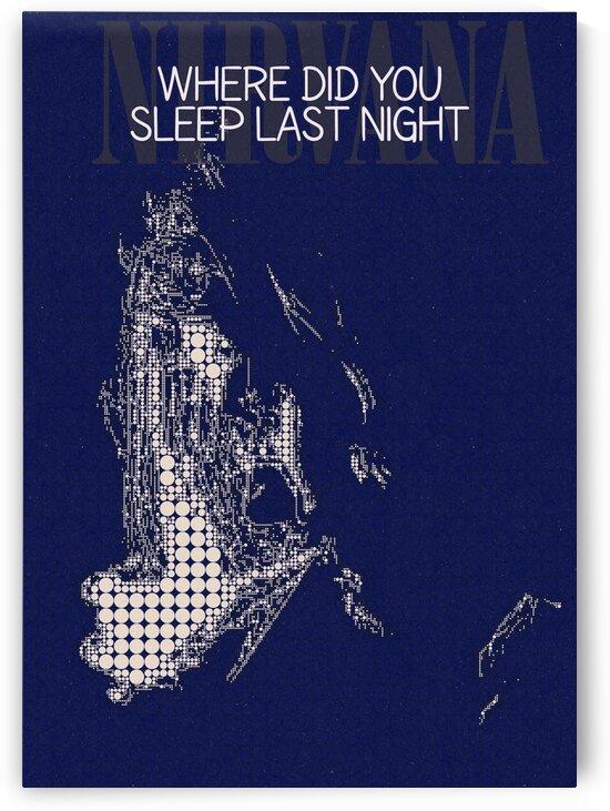 Where Did You Sleep Last Night   Nirvana   Kurt Cobain by Gunawan Rb