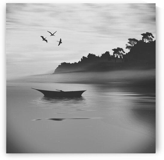 Calm morning. by Ievgeniia Bidiuk