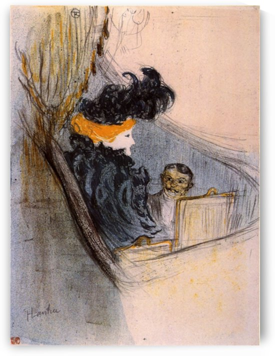 Spring idyll by Toulouse-Lautrec by Toulouse-Lautrec