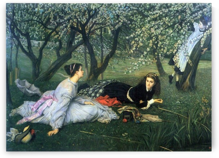 Springtime by Tissot by Tissot