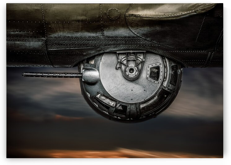 Ball Turret No 2 by Bob Orsillo