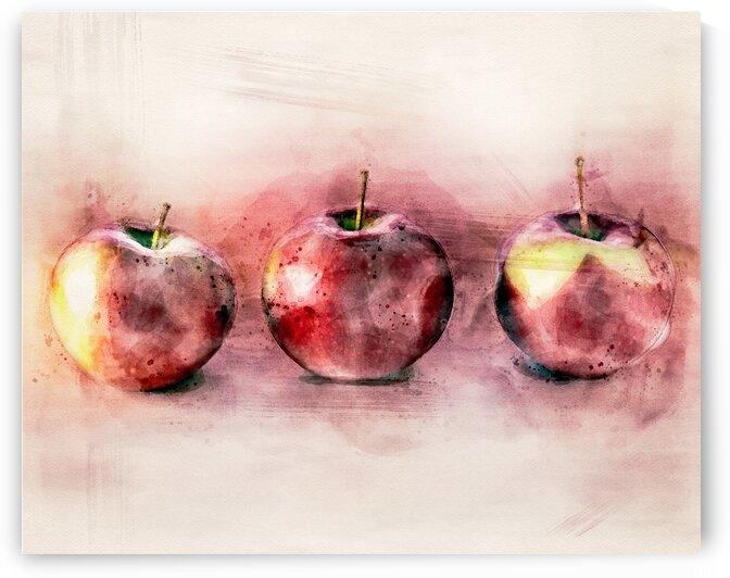 Three Apples by Bob Orsillo