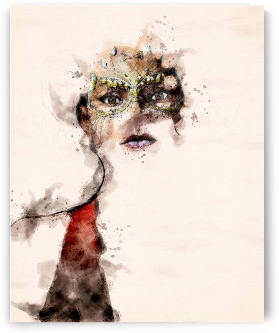 Belle dame du masque by Bob Orsillo