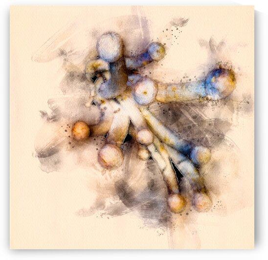 Tasty Mushroom Abstract by Bob Orsillo