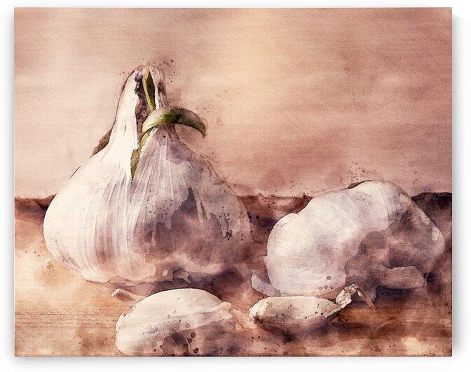 Garlic In The Kitchen by Bob Orsillo