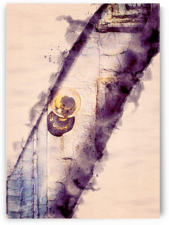 Glass Doorknob by Bob Orsillo