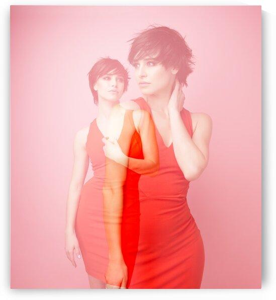 Double exposure. Fashion VII by Aquamarine
