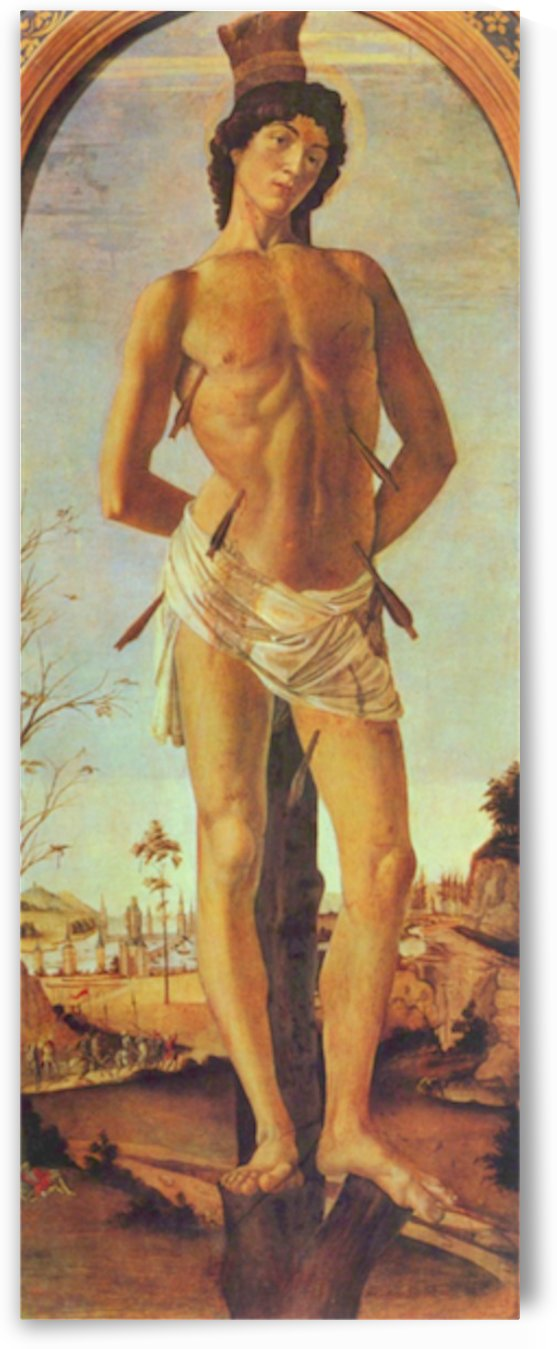 St. Sebastian by Botticelli by Botticelli