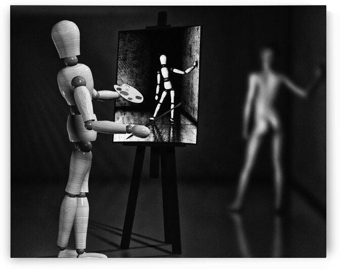 Nude Model by Bob Orsillo