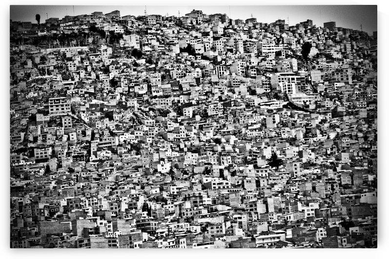 Favela Village in El Alto, La Paz, Bolivia by joel alvarez  by 1x