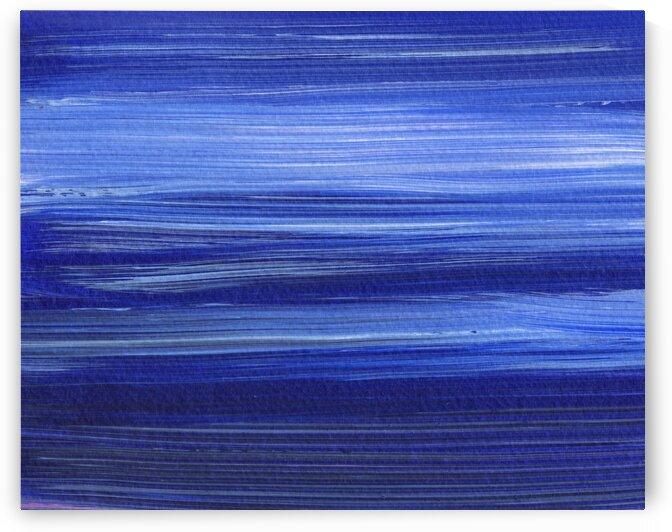 Sea Ocean Waves Coastal Beach House Nautical Decor VI by Irina Sztukowski