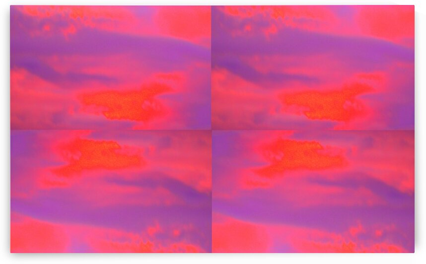 After the Thunderstorm: Psychedelic Pink  by Sherrie Larch