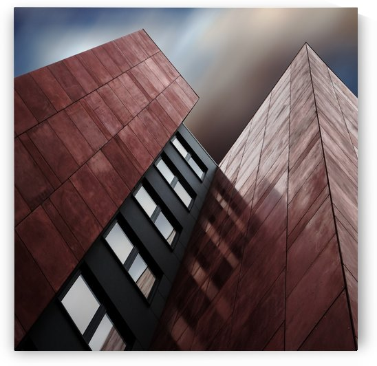 facade rouge by Gilbert Claes  by 1x