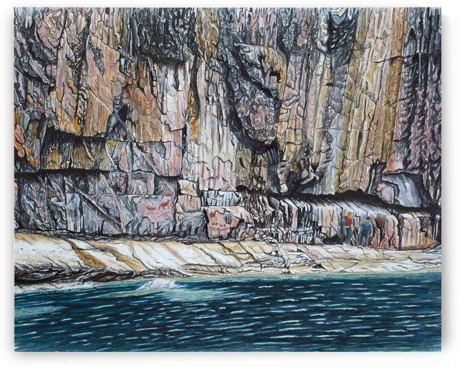 Agawa Rock by Stephen Emms