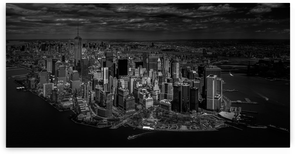 Manhattan - bird's eye view by 1x