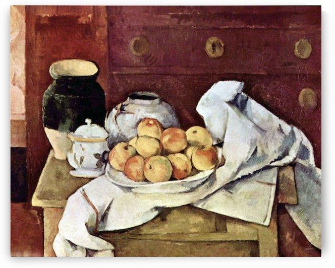 Still Life by Cezanne by Cezanne