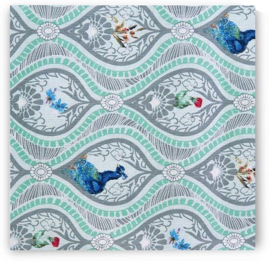 Peacock – Green by Mutlu Topuz