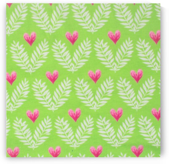Heart - Green by Mutlu Topuz