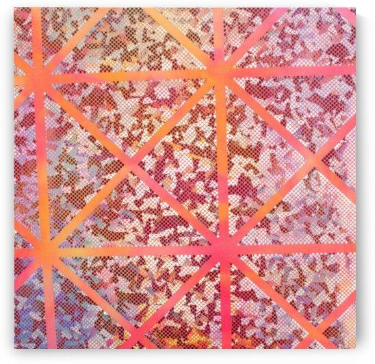 Tie Dye - Orange by Mutlu Topuz