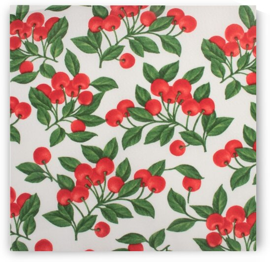 Cherry - White by Mutlu Topuz