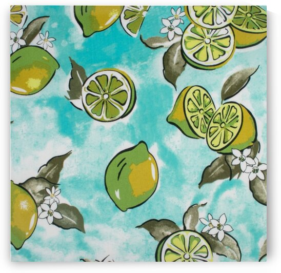Lemon - Blue by Mutlu Topuz