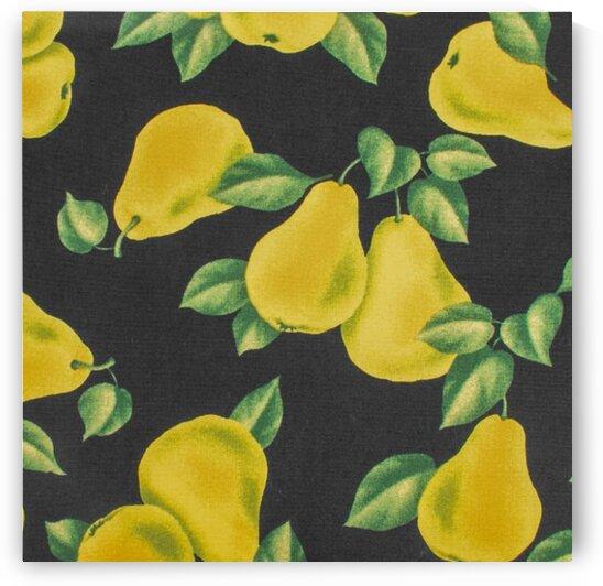 Pear - Black by Mutlu Topuz