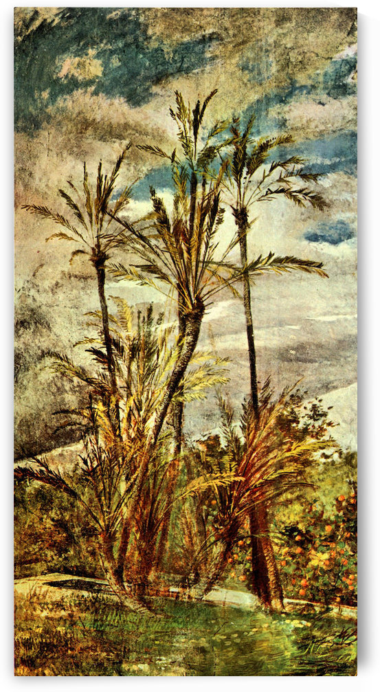 Palms and Oranges by Giovanni Boldini by Giovanni Boldini