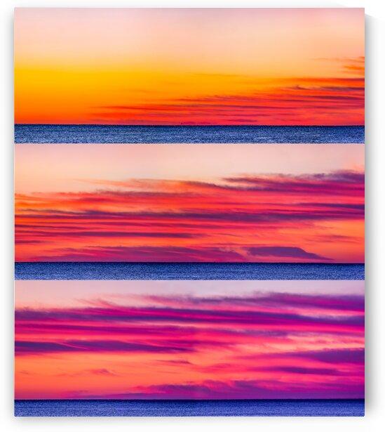 Red Dawn - Grid by Mark Bonchek