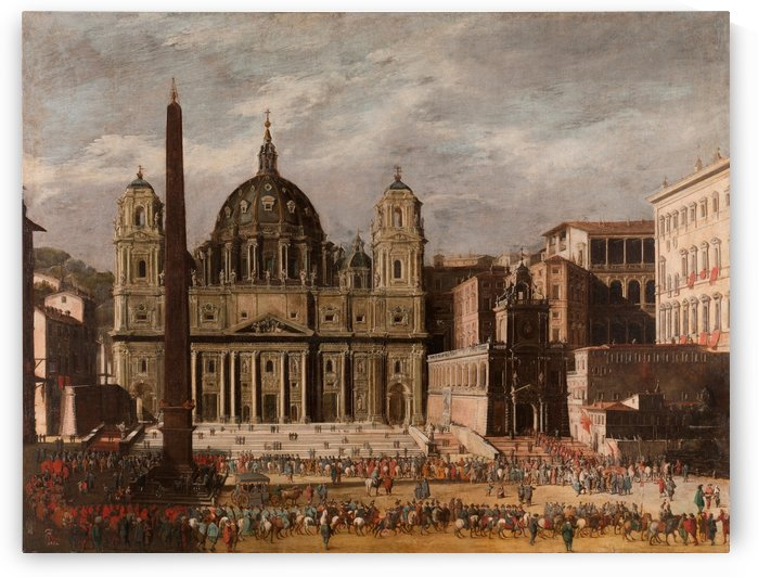 Saint Peter Church by Viviano Codazzi