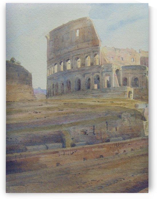 Colosseum by Viviano Codazzi