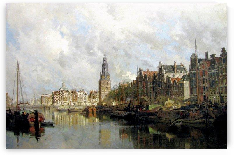Montelbaanstoren, Amsterdam by Johannes Klinkenberg