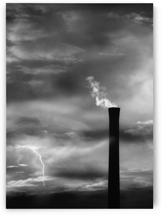 Smokestack Number One by Bob Orsillo