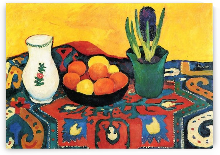 Still Life with Hyacinthe by Macke by Macke