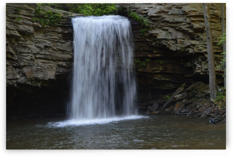 Waterfall by Christopher Lumpp