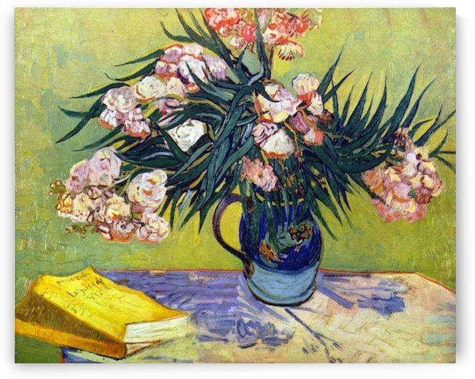Still Life with Oleander by Van Gogh by Van Gogh