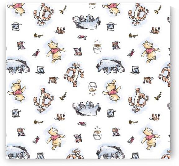 Disney Pooh Nursery Pooh And Friends Multi by Mutlu Topuz