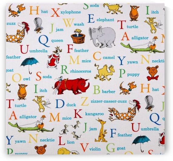 Dr. Seuss ABC Alphabet Words Adventure by Mutlu Topuz