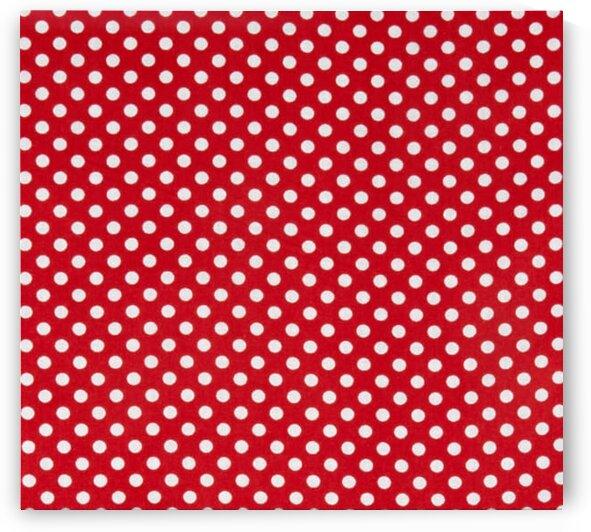Polka Dot Red by Mutlu Topuz