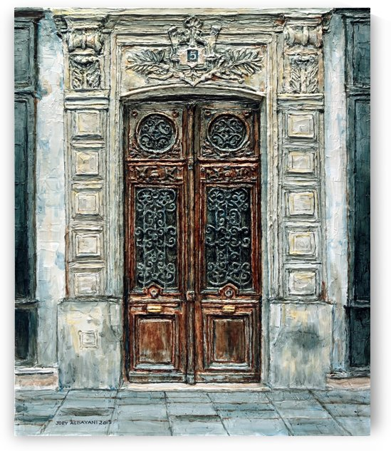 Parisian Door N0. 5-3 by Joey Agbayani