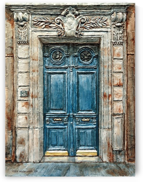 Parisian Door No. 3 by Joey Agbayani
