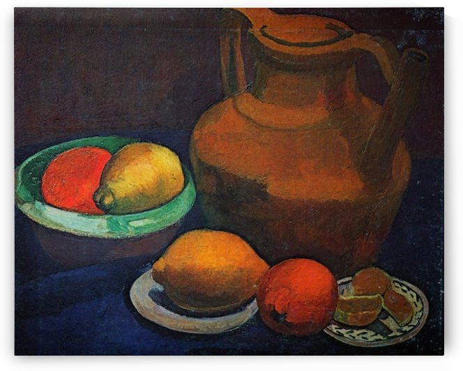 Still Life with tank by Paula Modersohn-Becker by Paula Modersohn-Becker