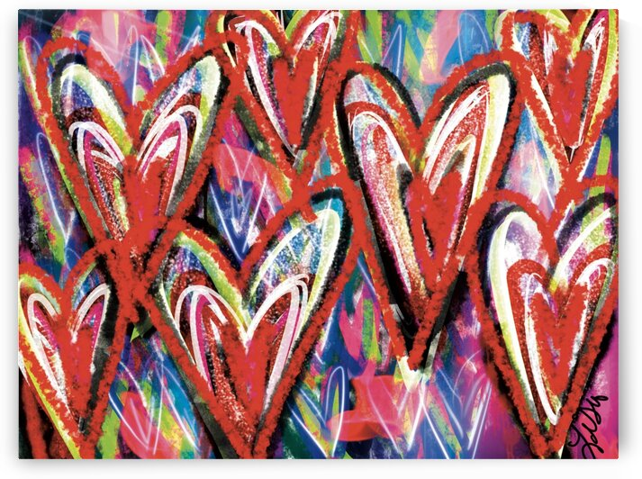 Red Hearts by Lisa Shavelson