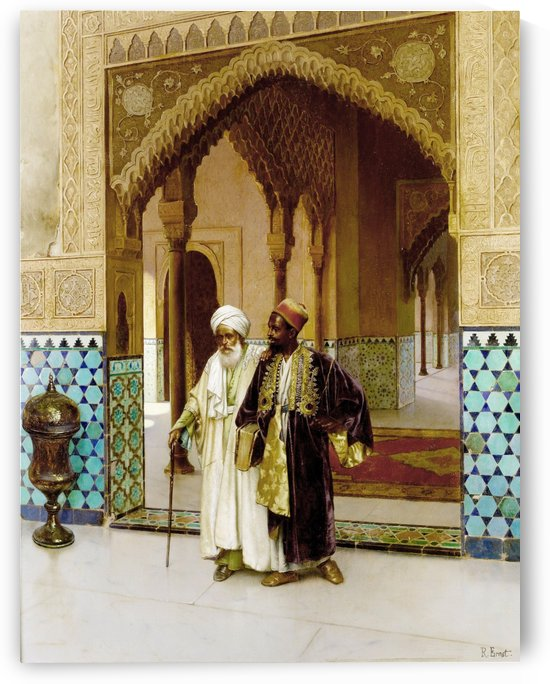 After Prayers by Rudolf Ernst